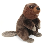 Plush Beaver 12 Inch Stuffed Animal Cuddlekin By Wild Republic