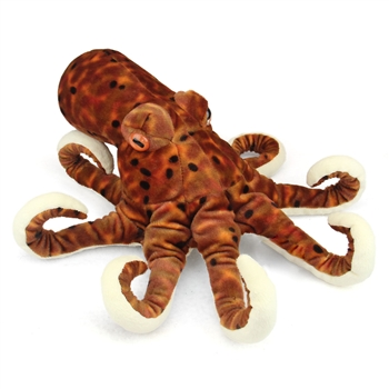 Plush Octopus 12 Inch Stuffed Animal Cuddlekin By Wild Republic