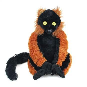 Cuddlekins Red Ruffed Lemur Stuffed Animal by Wild Republic