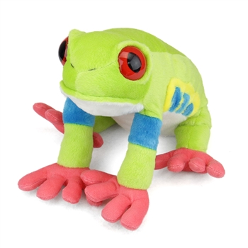 Plush Tree Frog 12 Inch Stuffed Animal Cuddlekin By Wild Republic