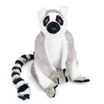 Cuddlekins Ring-tailed Lemur Stuffed Animal by Wild Republic