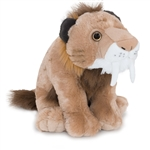 Plush Smilodon 12 Inch Stuffed Animal Cuddlekin By Wild Republic