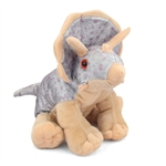 Plush Triceratops 12 Inch Stuffed Dinosaur Cuddlekin By Wild Republic