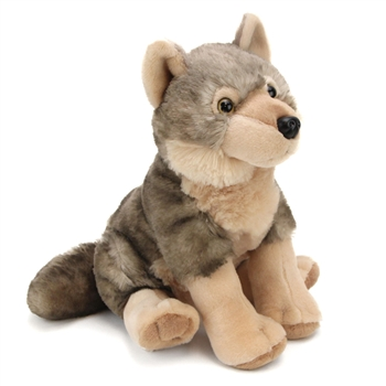 Plush Wolf 12 Inch Stuffed Cuddlekins by Wild Republic