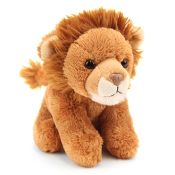 Stuffed Lion 5 Inch Itsy Bitsy Plush Wild Cat by Wild Republic