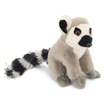 Stuffed Ring Tailed Lemur 5 Inch Itsy Bitsy Plush Primate by Wild Republic