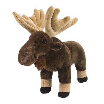 Plush Moose 12 Inch Stuffed Animal Cuddlekin By Wild Republic