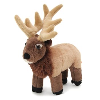 Stuffed Elk Mini Cuddlekin by Wild Republic
