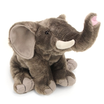Plush Elephant 12 Inch Stuffed Animal Cuddlekin By Wild Republic
