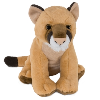 Plush Mountain Lion 12 Inch Stuffed Wild Cat Cuddlekin By Wild Republic