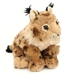 Stuffed Lynx 12 Inch Cuddlekin by Wild Republic