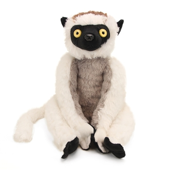 Stuffed Sifaka Lemur 12 Inch Cuddlekin by Wild Republic