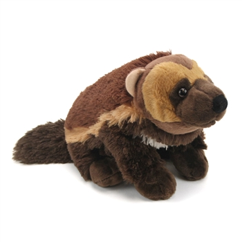 Stuffed Wolverine 12 Inch Cuddlekin by Wild Republic