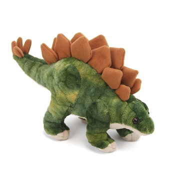 Small Dinosauria Stegosaurus Stuffed Animal by Wild Republic