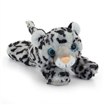 Hug Ems Small Snow Leopard Stuffed Animal by Wild Republic