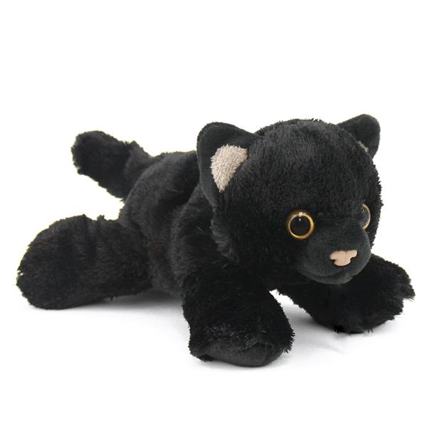 small black cat stuffed animal hug 39 ems by wild republic stuffed safari. Black Bedroom Furniture Sets. Home Design Ideas