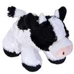 Hug 'Ems Small Cow Stuffed Animal by Wild Republic
