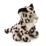 Small Plush Snow Leopard Lil' Cuddlekins by Wild Republic