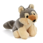 Small Plush Wolf Lil' Cuddlekins by Wild Republic