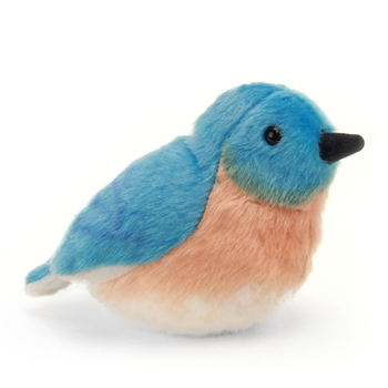 Plush Eastern Bluebird Audubon Bird with Sound by Wild Republic