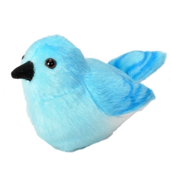 Plush Mountain Bluebird Audubon Bird with Sound by Wild Republic