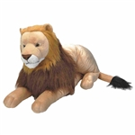 Cuddlekins Jumbo Lion Stuffed Animal by Wild Republic
