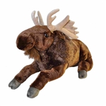 Cuddlekins Jumbo Moose Stuffed Animal by Wild Republic