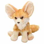 Stuffed Fennec Fox Mini Cuddlekins by Wild Republic