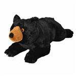 Cuddlekins Jumbo Black Bear Stuffed Animal by Wild Republic