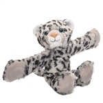 Huggers Snow Leopard Stuffed Animal Slap Bracelet by Wild Republic