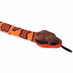 Stuffed Cottonmouth 54 Inch Plush Snake by Wild Republic