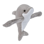 Huggers Dolphin Stuffed Animal Slap Bracelet by Wild Republic
