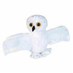 Huggers Snowy Owl Stuffed Animal Slap Bracelet by Wild Republic
