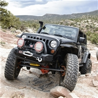 ARB JEEP WRANGLER JK TEXTURED BLACK STUBBY BAR