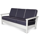 Polywood Harbour Deep Seating Sofa