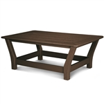 Polywood Harbour Slat Coffee Table