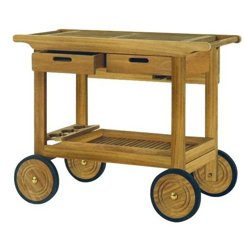 Kingsley Bate Serving Cart w/Wheels