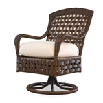 Lloyd Flanders Haven Swivel Dining Chair