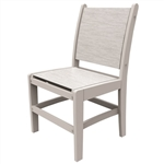 Malibu Maywood Sling Side Chair