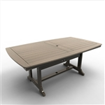 "Malibu Napa 43"" x 76"" Dining Table"