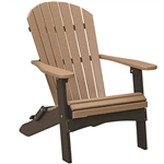 Berlin Gardens Folding Adirondack Chair