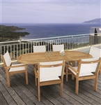 Royal Teak 5 Piece Captiva Stacking Set