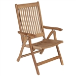 Royal Teak Estate Reclining Chair