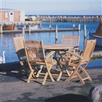 Royal Teak 5 Piece Sailor Folding Set