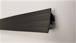 "Utility Door Sweep Black 48"" (119.3 CM)"