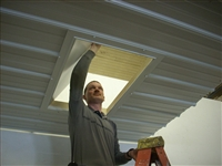 Installed Insulated Attic Access Door- AAD