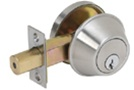TELL Single Cylinder Deadbolt - Grade 2