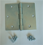 HINGE 1-PACK, Zinc coated Steel Hinge for AJ Aluminum Frame Doors