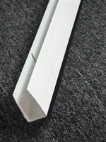 Replacement Storm Door Expander with Sweep - WHITE - 36""