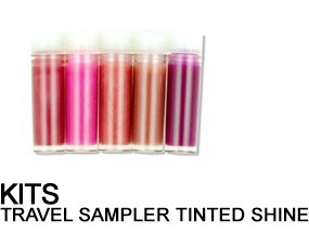 Tinted Shine Lip Gloss Travel Sampler